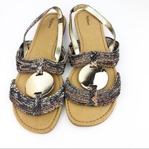 Style&co Sandals Size 6 Natural New without box
